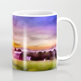 Day is Done on the Farm Coffee Mug