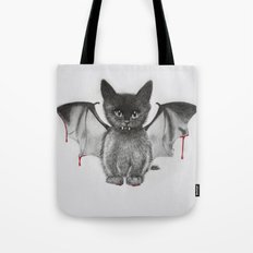Cat Bat Tote Bag