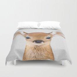 Baby Deer - Colorful Duvet Cover