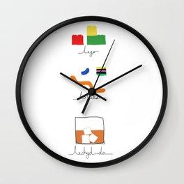 Lechyd da! Wall Clock