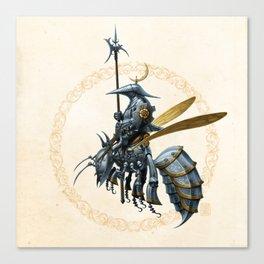 Royal Wasp Guard Canvas Print