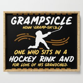 Grampsicle Definition Serving Tray