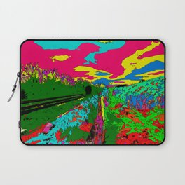 Violets Laptop Sleeve
