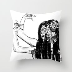 Conjoined Throw Pillow