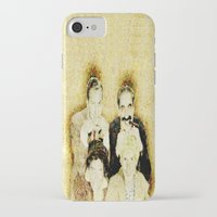 marx iPhone & iPod Cases featuring MARX BROTHERS - 004 by Lazy Bones Studios