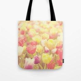 life isn't a tiptoe through the tulips ... Tote Bag