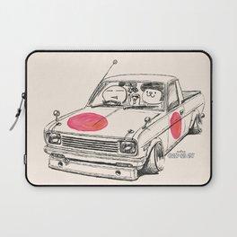 Crazy Car Art 0169 Laptop Sleeve