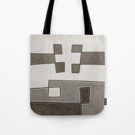 Protoglifo 10 Greyish approaching Tote Bag