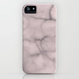 mauve greys iPhone Case
