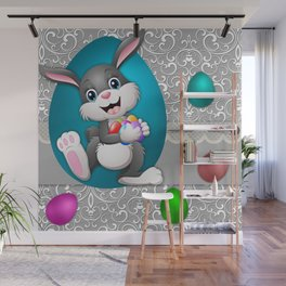 Illustration celebration easter Wall Mural