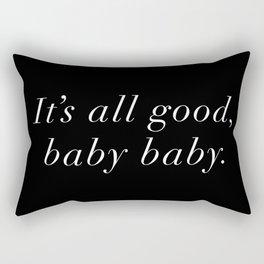 Biggie Smalls - HipHop Lyrics Rectangular Pillow