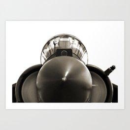 Military Fighter Jet Art Print