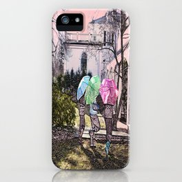 3 Umbrella's! iPhone Case