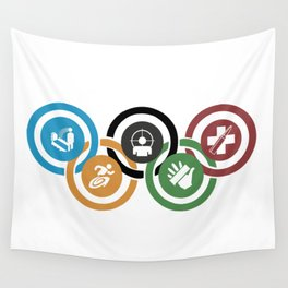 Zombie rings! Wall Tapestry