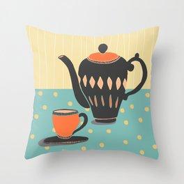 Soothing Tea Throw Pillow