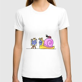 Its Hard To Paint With No Hands T-shirt