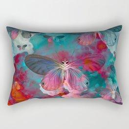 """""""Spring Butterfly love"""" Rectangular Pillow"""