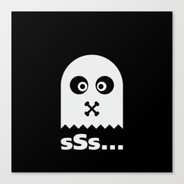Ghost sSs #society6 #decor #buyart #artprint Canvas Print