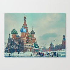 Cathedral of Vasily the Blessed Canvas Print