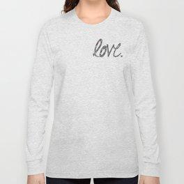 Love Zentangle  Long Sleeve T-shirt