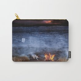 Kilauea Volcano Lava Flow. Carry-All Pouch