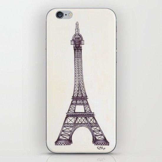 Merci Beaucoup iPhone & iPod Skin