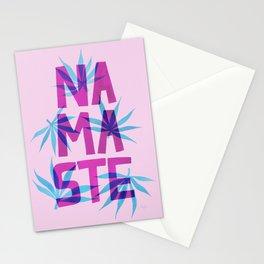 Namaste - Mostly Pink Palette Stationery Cards