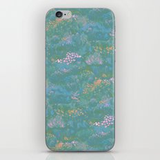 Blue Life in Death Valley iPhone & iPod Skin