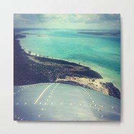 Fly On, Lover. DC-3 Island Hop Metal Print