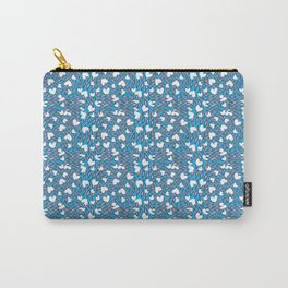 Love hearts and diamonds bright cool pattern Carry-All Pouch