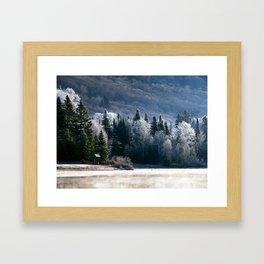 Lac Blanc Framed Art Print