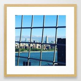 Morning Commute Framed Art Print
