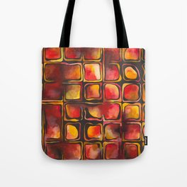 Red Blood Cells in Flow Tote Bag
