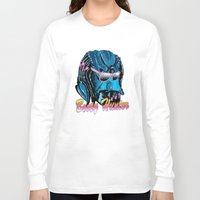 booty Long Sleeve T-shirts featuring Booty Hunter by The Bad Boy Club