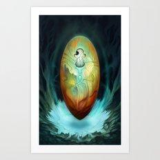 Tzadqiel Egg Art Print