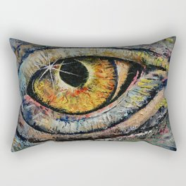 Awakened Dragon Rectangular Pillow