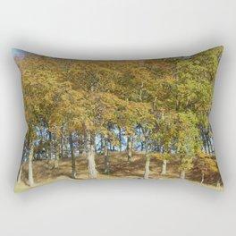 Edge of a Forest  Rectangular Pillow