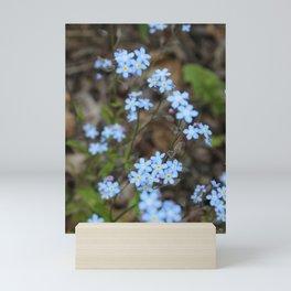 Copious Forget-Me-Nots Mini Art Print