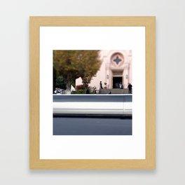 Where The Sidewalk Ends Framed Art Print