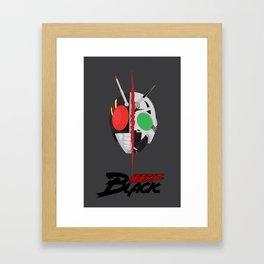 Kamen Rider BLACK Framed Art Print