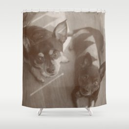 Charlie & Lucie Shower Curtain