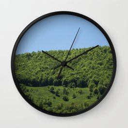 Blue+green Wall Clock