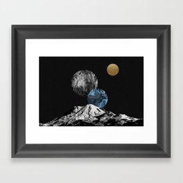 Space II Framed Art Print