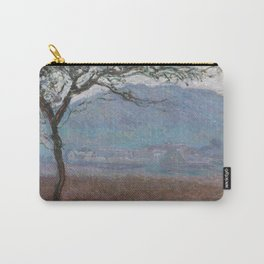Landscape at Giverny by Claude Monet Carry-All Pouch