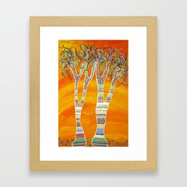 """""""Bushman's Quivers"""" by ICA PAVON Framed Art Print"""