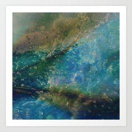 Oceana Batik Art Print