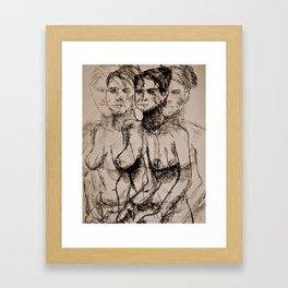 Seeing in Quattttro Framed Art Print