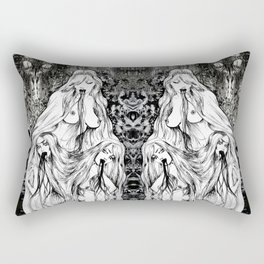 Holy Triad Rectangular Pillow