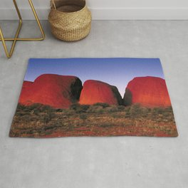 Australia Photography - Kata Tjuta In The Late Evening Rug