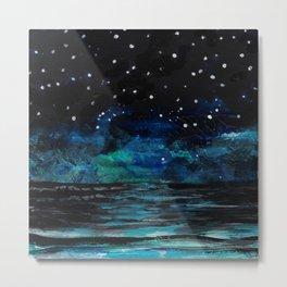 Starlit Sea Metal Print